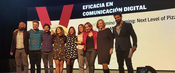 Reconocimiento a la Eficacia en Comunicación Digital del Festival Inspirational