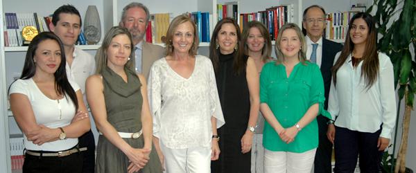 Delegación colombiana en Madrid