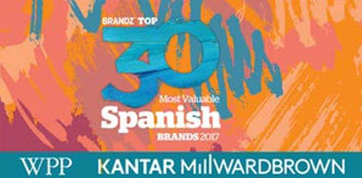 BrandZ Top 30 Spanish Brands