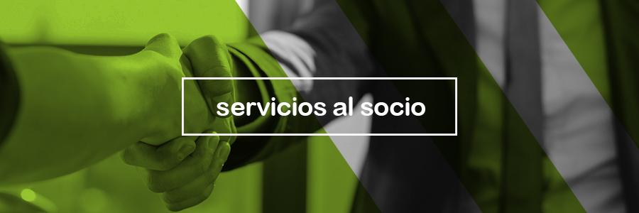 servicios al socio