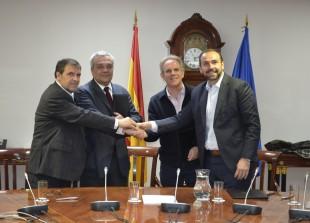 Firma del Acuerdo de Cooperación protección derechos propiedad intelectual
