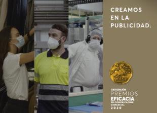 Creamos en la Publicidad Campaña Premios Eficacia 2020